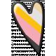 Pencil- Heart Sticker