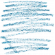 Mix & Match Crayon Scribble- Blue