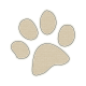 Pet Sticker- Paw Print