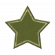 Green Chipboard Star 2