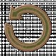 Green/Brown Chipboard Arrow