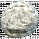 Move Fabric Flower 15- White & Tan