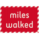 Move Label- Miles Walked
