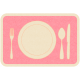 Thanksgiving Place Setting- Pink Tag
