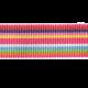 Brighten Up Bow- Rainbow Ribbon