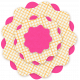 Brighten Up Paper Flower- Pink