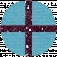 Hanukkah Present- Light Blue Glitter