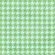 Brighten Up Paper- Houndstooth- Blue & Green