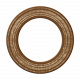 Brown Chipboard Circle