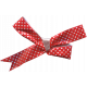 Deck The Halls- Red Polka Dot Bow