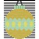 Deck The Halls- Ornament Eyelet Ribbon