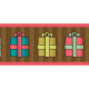 Deck The Halls- Ribbon Packages