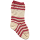 Deck The Halls- Stocking Red Striped Knit