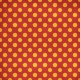 Polka Dots 35 Paper- Red & Orange