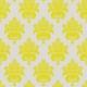 Lake District- Damask Paper- Strong Yellow