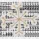 Winter Plaid- Snowflake White