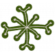 Winter Plaid- Snowflake Green