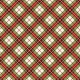 Winter Plaid- Green & Red Plaid Paper- Diagonal