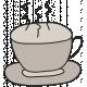 Winter Plaid- Tea Cup