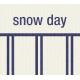 Winter Plaid Label- Snow Day