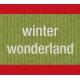 Winter Plaid Label- Winter Wonderland