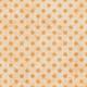 Polka Dots Paper 35 - Orange & White