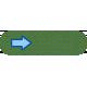 Egypt Tags- Small Arrow Green