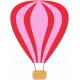 Hot Air Balloon- Pink Balloon