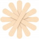Egypt Flowers- Light Brown 1