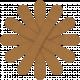 Egypt Flowers- Brown