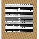 Egypt Frames- Brown & Blue Striped