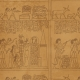 Egypt- Glyphs Paper- Brown