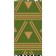 Egypt- Triangles & Stripes Washi Tape