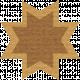 Egypt Scrap- Ohio Star Brown