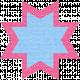 Egypt Scrap- Ohio Star Pink & Blue