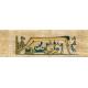 Egypt Hieroglyphs- Tan Cloth