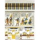 Egypt Hieroglyphs- White Wall