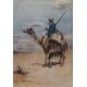 Egypt Illustration- Camel