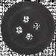 Egypt- Black Button
