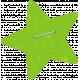 Green Stapled Star