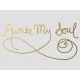 Awake My Soul- Golden Ocean Journal Card