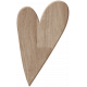 Be Mine- Light Brown Heart