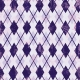 Argyle 18 Paper- Purple