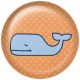 Oceanside Flair- Whale