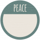 Coastal Label- Peace