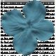 Where Flowers Bloom Flower- Blue
