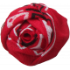 At The Farm Fabric Flower- Red