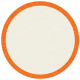 At The Farm Tag- Circle Orange
