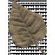 Garden Bunny- Brown Leaf
