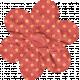 Garden Bunny- Polka Dot Flower
